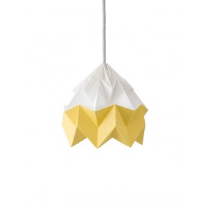 Suspension Moth bicolore Jaune automnal