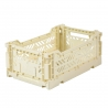 MINIBOX / Caisse pliable et empilable small / Folding crate / Baby blue