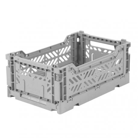 MINIBOX / Caisse pliable et empilable small / Folding crate / Blue