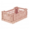MINIBOX / Caisse pliable et empilable small / Folding crate / Lime