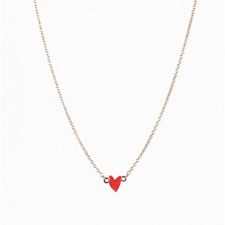 Collier Grant rouge