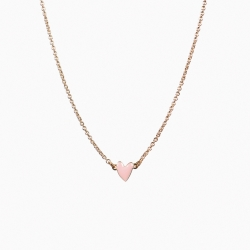 Collier Grant rose poudré
