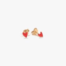 Boucles Grant rouges