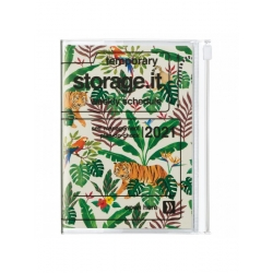 Agenda 2020 A6 Jungle CREAM