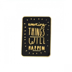 Pin's Amazing Things will happen