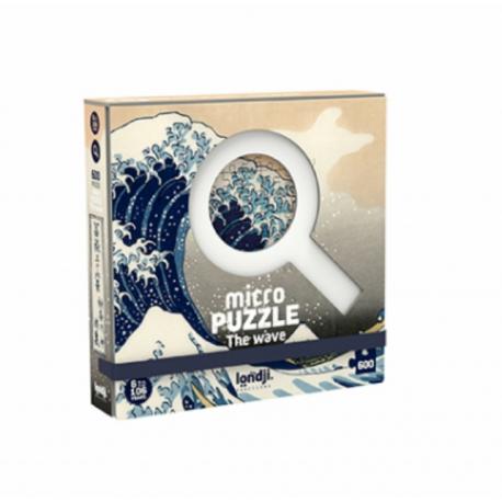 Micro puzzle 600 pièces / The wave / A partir de 6 ans