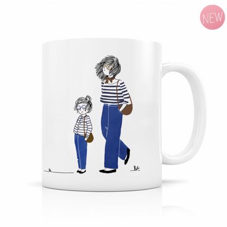 Mug Mère Fille en jean
