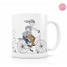 Mug Mère Fils à vélo