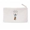 Pochette zippée Enfant Fleur