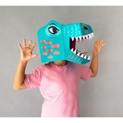 Masque 3D Dino
