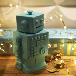 Tirelire Robot Mint