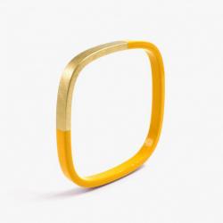 Bracelet Trinity carré Safran