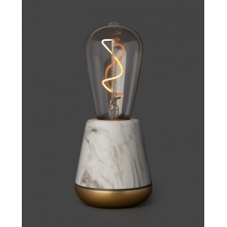 Lampe sans fil Humble One White Marble