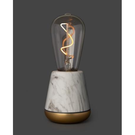Lampe sans fil Humble One White Marble
