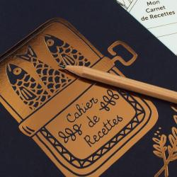 Cahier de recettes Sardines / Bleu