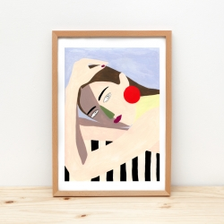 Affiche Mujer / 2 formats dispo