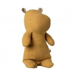 Hippopotame Moutarde Maileg medium