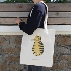 Totebag Gros Chat tigré