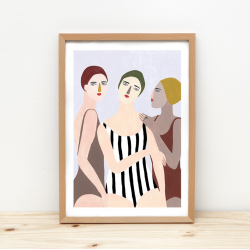 Affiche Swimmers