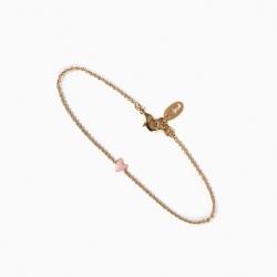Bracelet Grant rose poudré