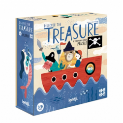 Puzzle Discover the treasure / 3-6 ans