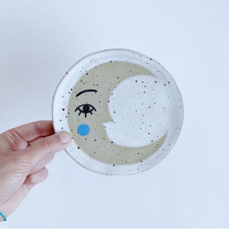 Céramique Lune Lisa Junius