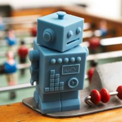 Tirelire Robot Blue