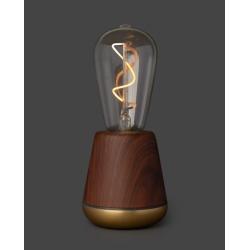 Lampe sans fil Humble One Walnut