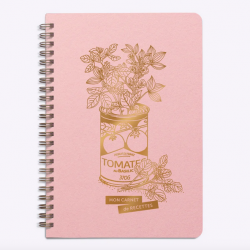 Cahier de recettes Conserve / Rose
