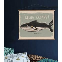Poster Clean Oceans 50x70