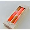 Bougies Fluo / Set caramel