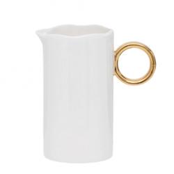 Pot à lait White & Gold