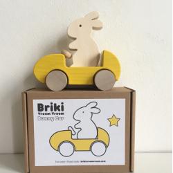 Bunny Car / jaune