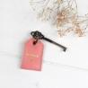 Porte-clés Amour Flamingo