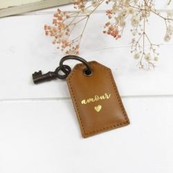 Porte-clés Amour Caramel
