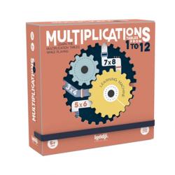 Les multiplications / Jeu mathématiques