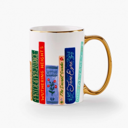 Mug en porcelaine Book Club