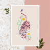 Affiche A4 Pink Tiger