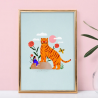 Affiche A5 Giant tiger