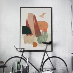 Affiche Pelican 30x45 cm