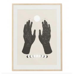 Affiche Chiromancie 30x45 cm