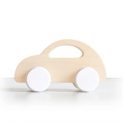 Voiture à roulettes en bois de hêtre / Beetle