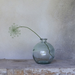 Vase Bubble en verre recyclé