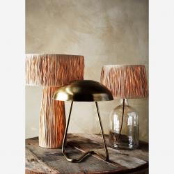 Lampe Onyx en mtéal brossé