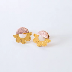 Boucles Tanis / Or rose