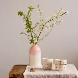 Vase Bloom Marinski / Rose poudré