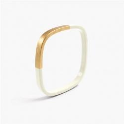 Bracelet Trinity carré Ivoire