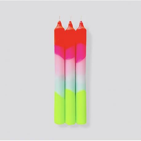 Bougies Fluo / Lollipops