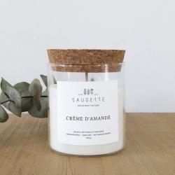 Bougie Crème d'amande / 3 formats disponibles