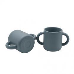 Tasse en silicone / bleue